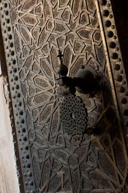 Door knocker, Fez