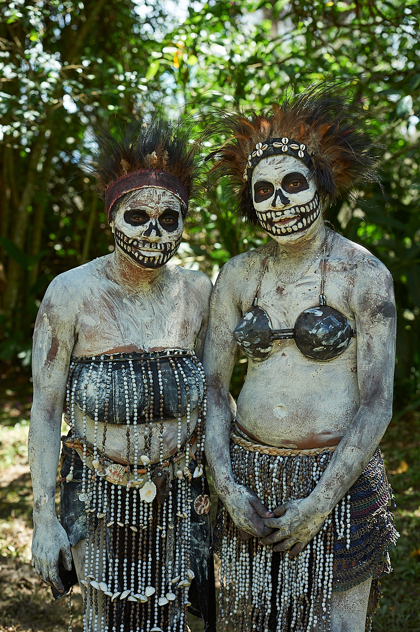 Skeleton women, Chimbu
