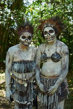 Skeleton women, Chimbu