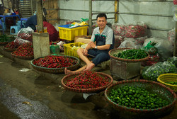 Long Bien market, Hanoi