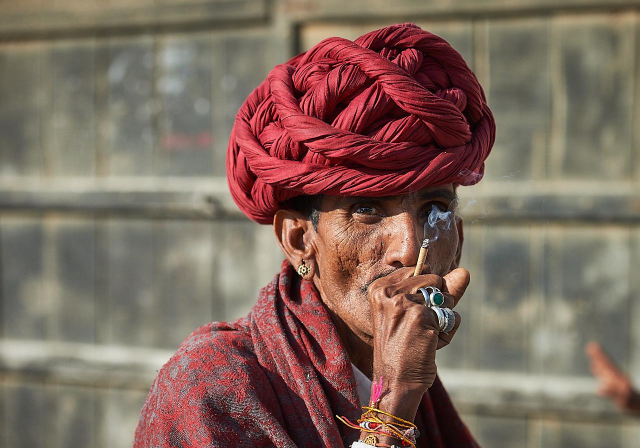 Rabari man, Rajasthan