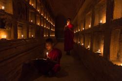 Young monks, Bagan
