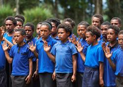 Childern, national anthem, Payia