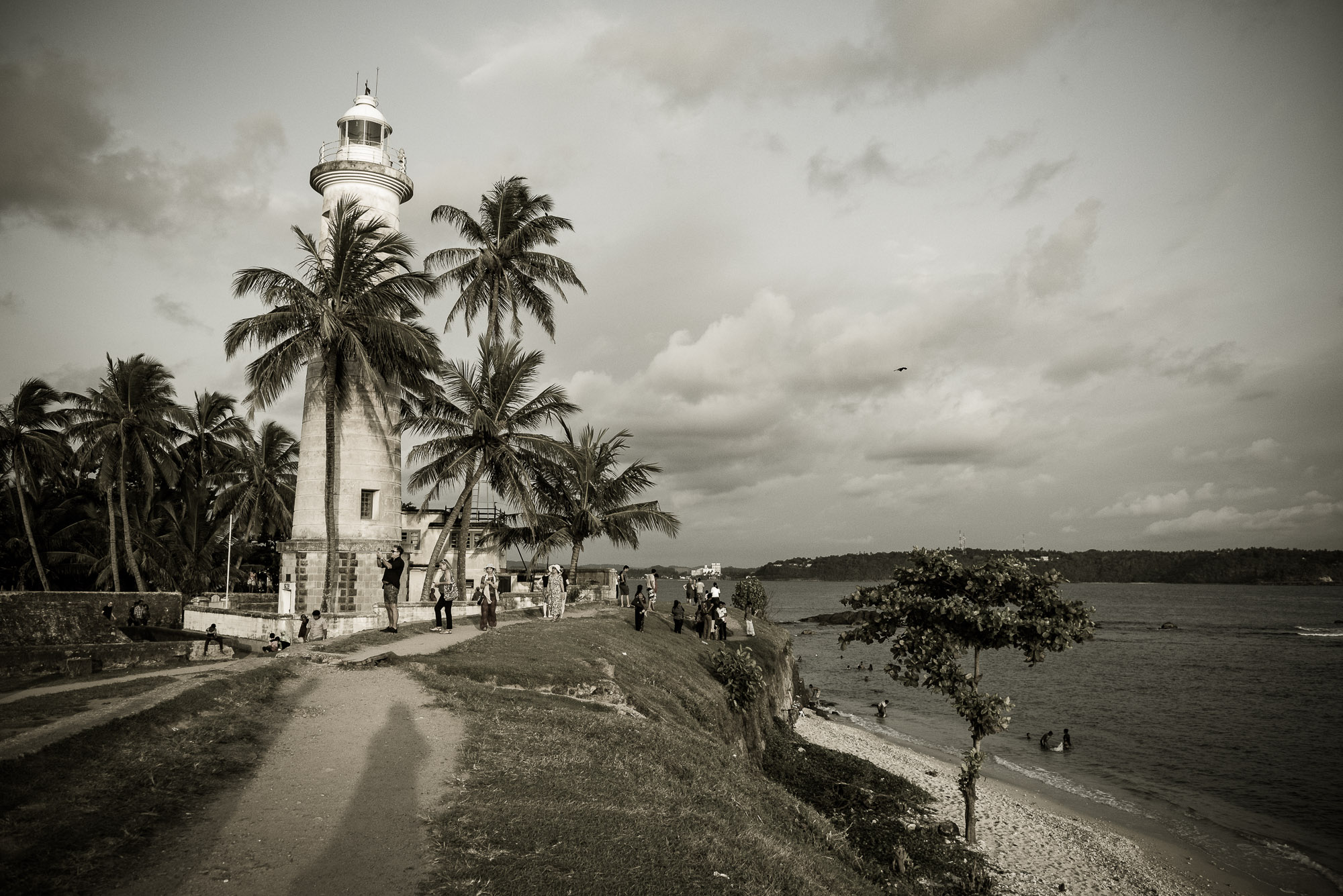 Lighthouse, Galle Dutch fort