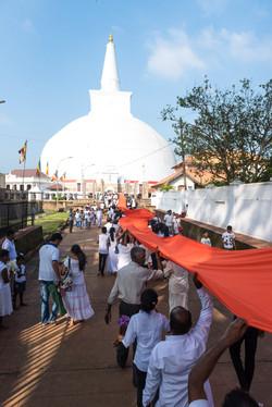 Procession, Anuradhapura