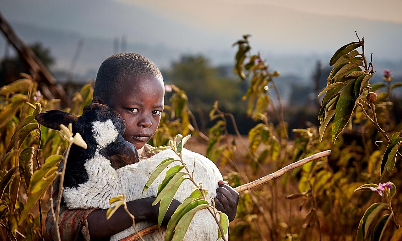 Maasai boy, Monduli Juu
