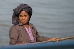 Fisherwoman, Mandalay