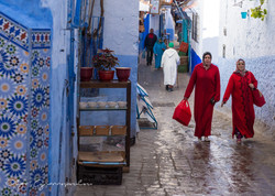 Women in Chefchaouen