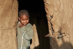 Masai child, Ngorongoro