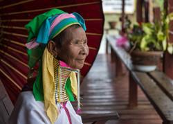 Padaung old lady