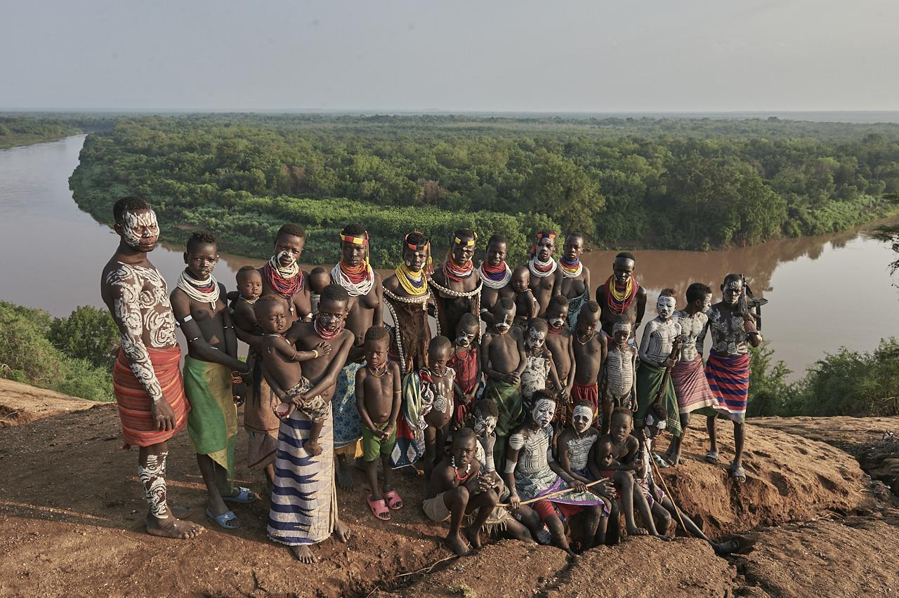 Kara people in Korcho
