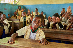3rd grade class students, Kigomani