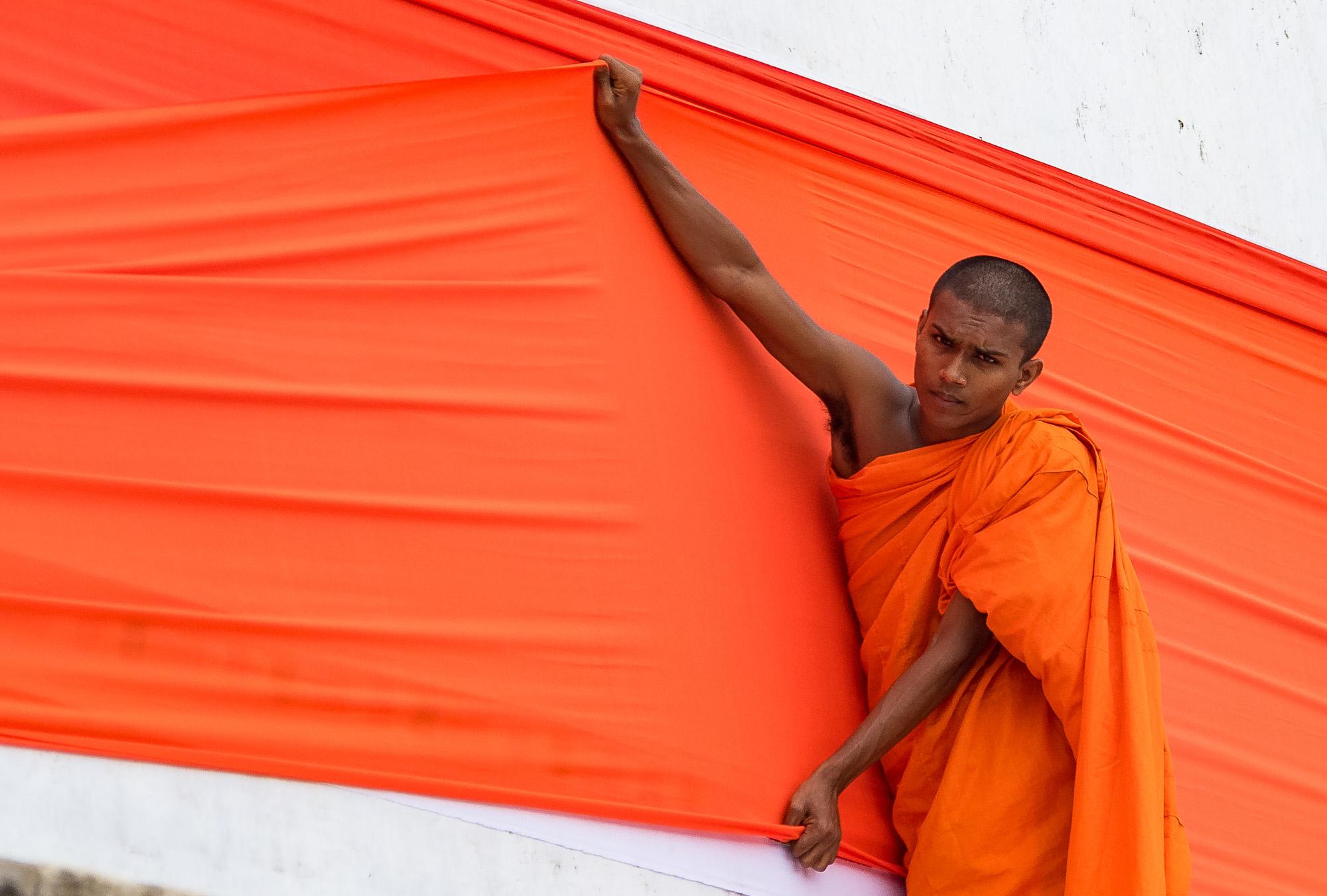 Monk, Sri-Lanka