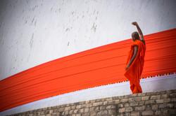 Monk, Anuradhapura