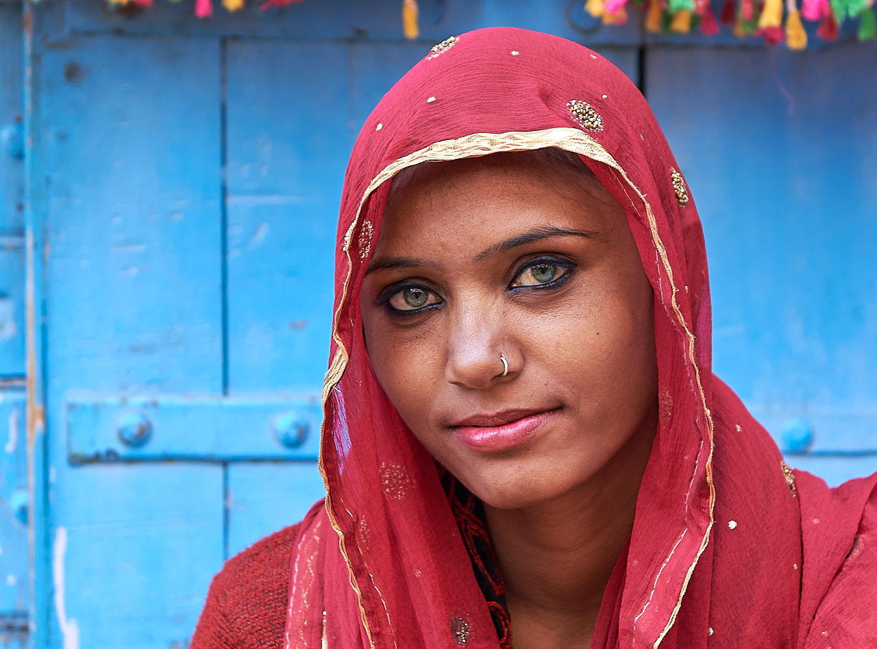 Street vendor, Pushkar