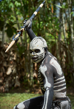 Skeleton man, Chimbu