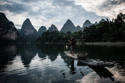 Cormorant fishing - Yangshuo, China
