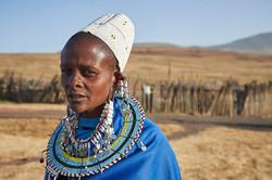 Masai woman, Ngorongoro