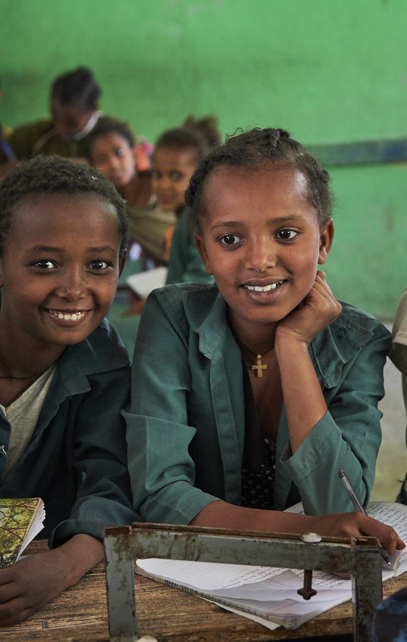 Schoolgirls, Lalibela