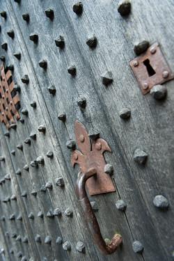 Gate in Mont-Saint-Michel