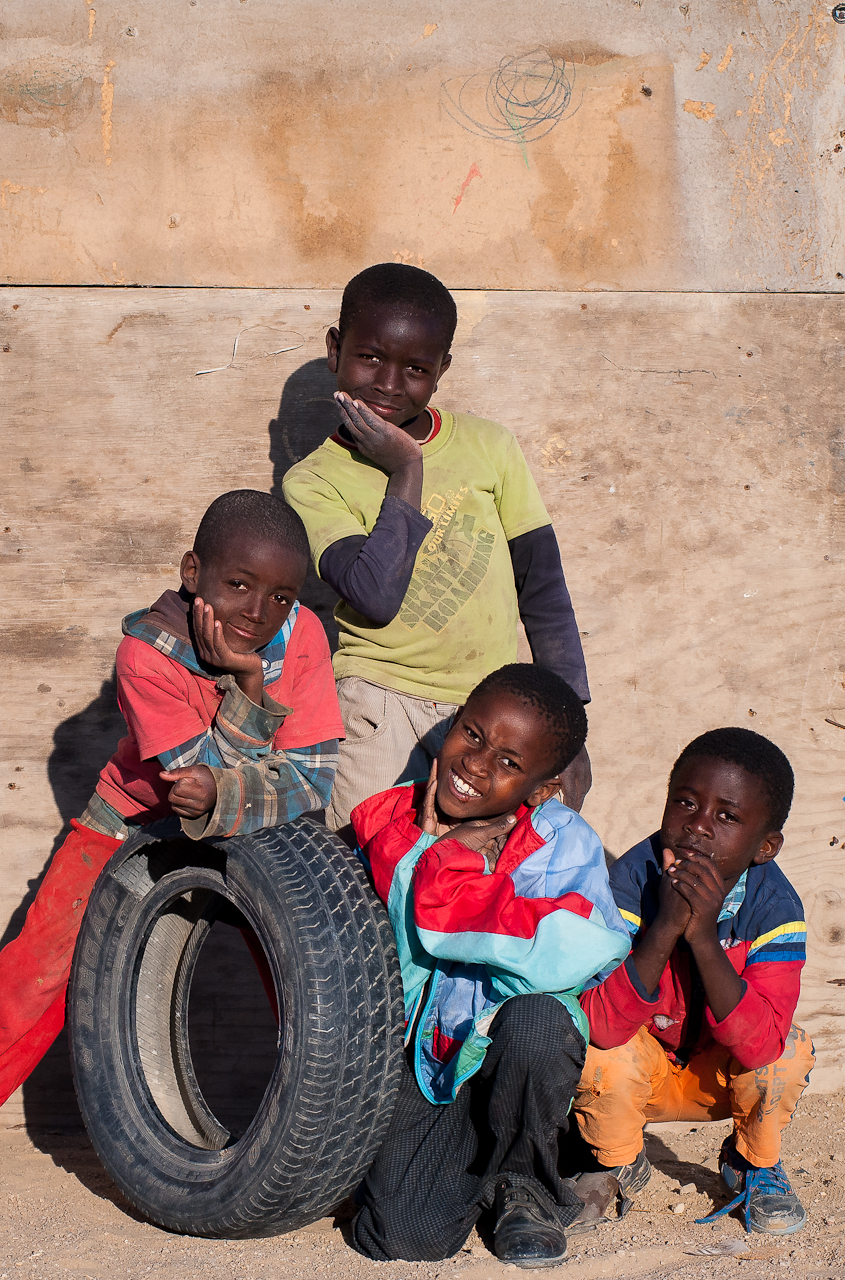 Children in Mondesa township