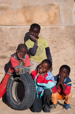 Children in Mondesa township