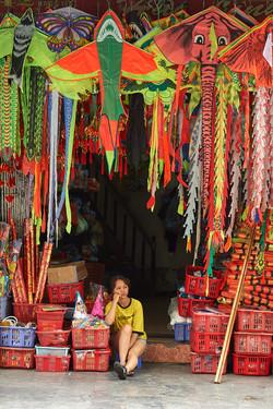 Kite store, Hanoi