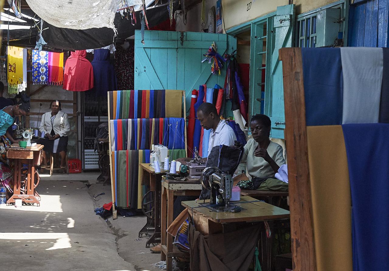 Musoma market, lake Victoria