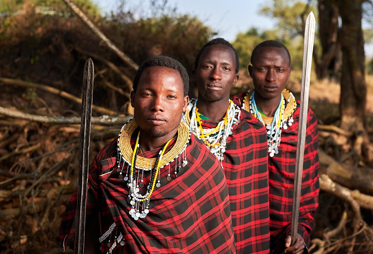 Maasai men, Monduli Juu