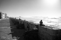 Essaouira seafront ramparts