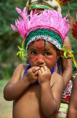 Aurocks girl, Kamaliki village