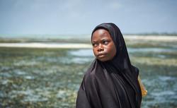 Girl, Jambiani beach