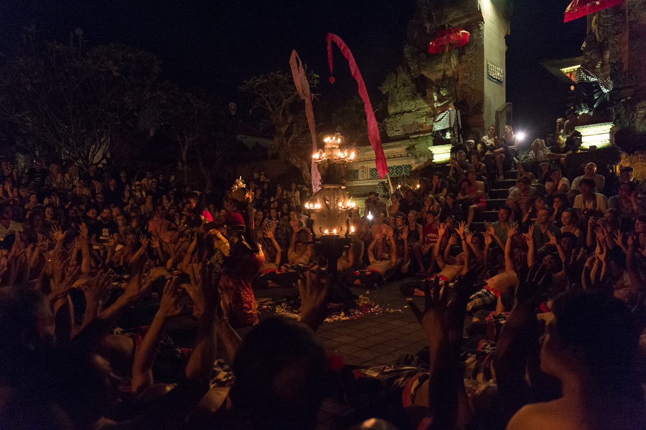 Kecak dance, in Ubud