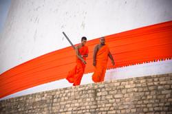 Monks, Anuradhapura