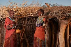 Datoga women, Lake Eyasi