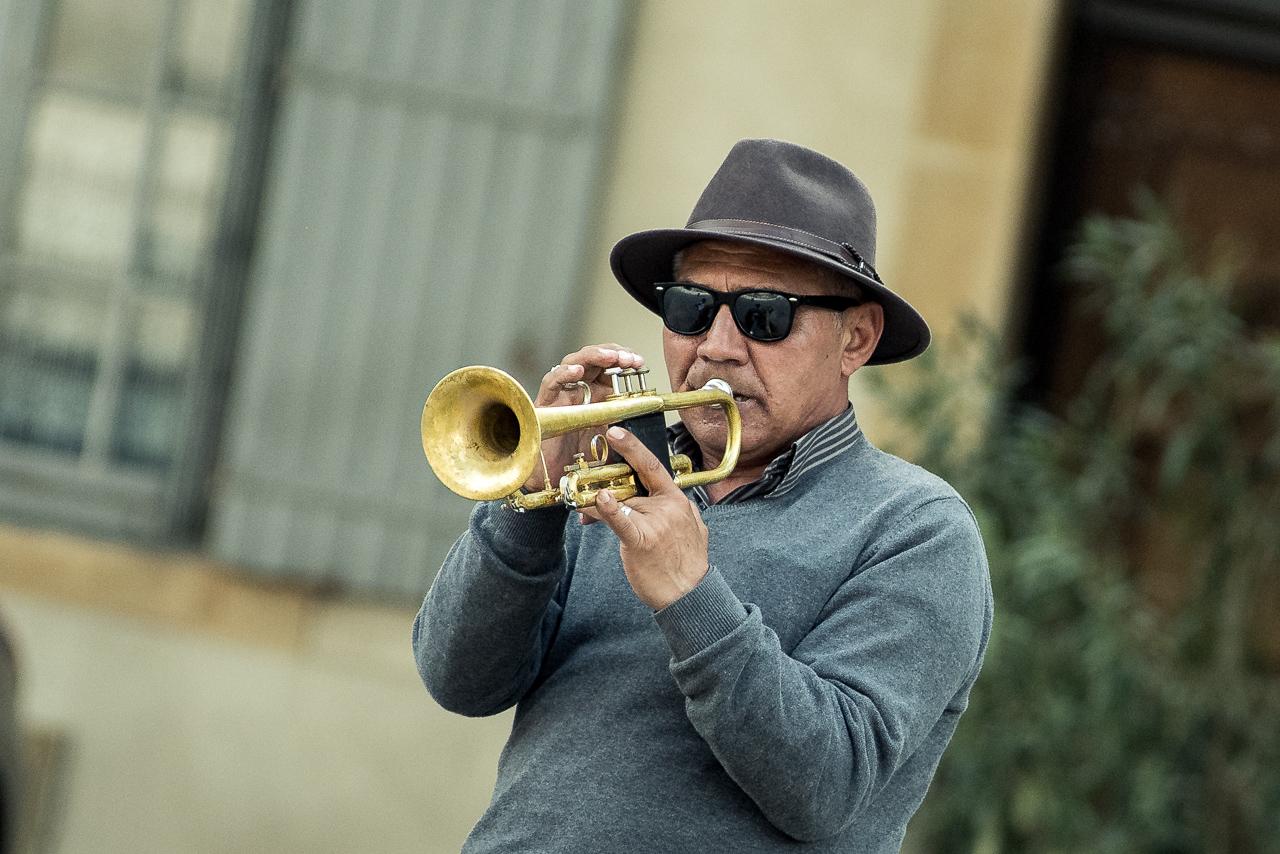 Musician, Avignon