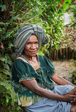 Chimbu lady, Goroka