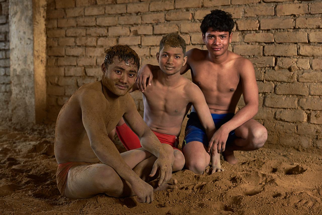 Wrestlers, Varanasi