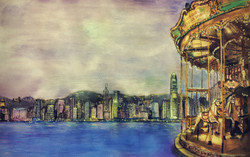 Carousel in my dreamy HongKong
