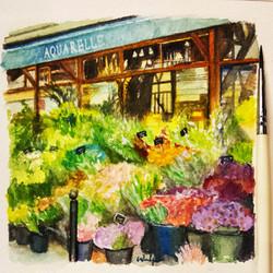 """The flower shop """"Aquarelle"""""""