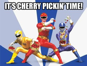 Cherry Picking Power Rangers