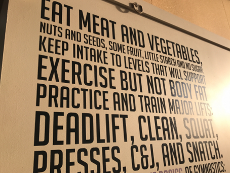Exercise and nutrition go hand in hand.