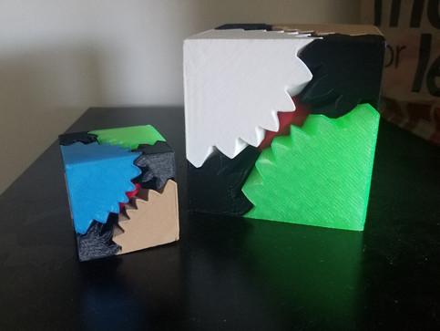 Gear Cubes