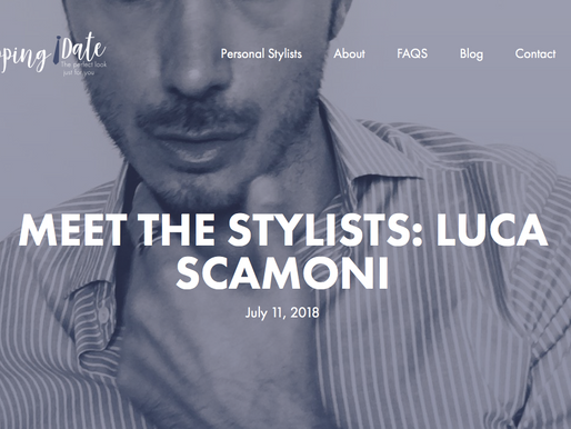 Luca for My Shopping Date: the interview