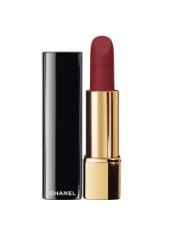 Lip luminous matte: 'Rouge Allure Velvet', nightfall, 'Chanel'.