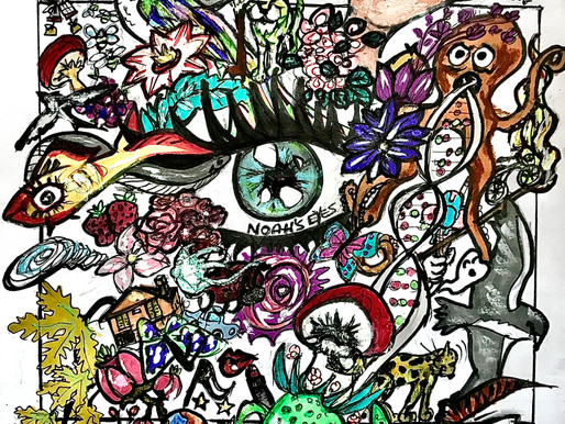 Noah's eyes: hyper-maximalism and engagement