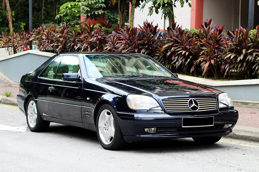 Mercedes Benz S500 Coupe 1995