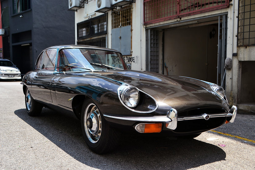 Jaguar E-Type Series II FHC