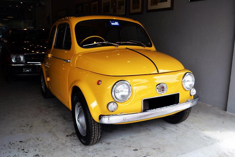 Fiat 500 D (suicide doors)