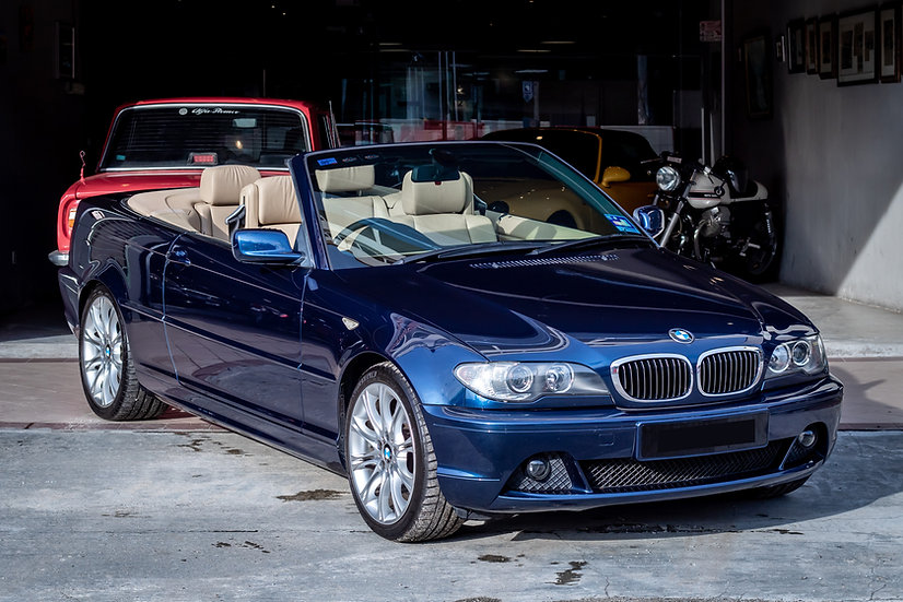 BMW 325Ci Convertible 2004